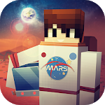 Mars Craft: Crafting & Building Exploration Games