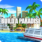 Tropic Paradise Sim: Town Building City Game