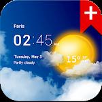 Прозрачные часы и погода (Ad-free)