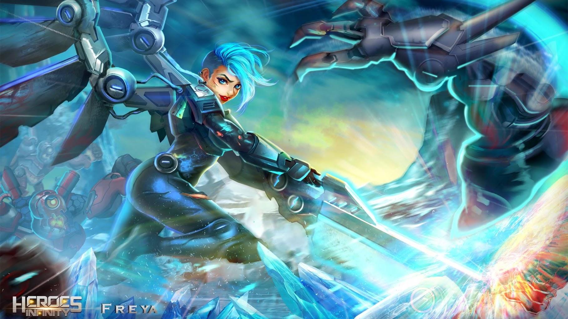 Download Heroes Infinity: Blade & Knight Online Offline RPG
