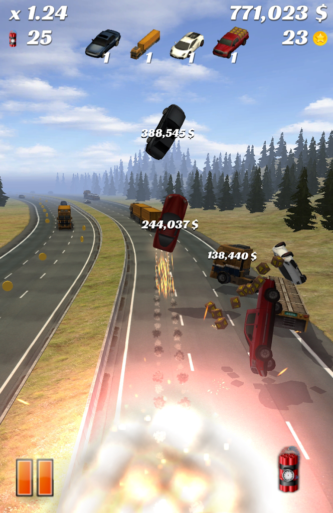 Download Highway Crash Derby 1 8 0 APK (MOD money) for android