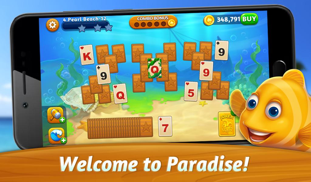 Download Solitaire Paradise: Tripeaks 1 3 0 APK (MOD money