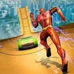 Super Speed Hero Mega Ramp Racing Stunts