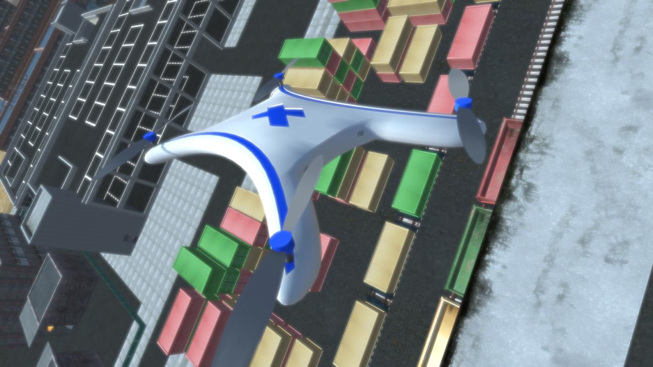 Download Drone Lander Simulator 3D - Free Flight Game 2 12
