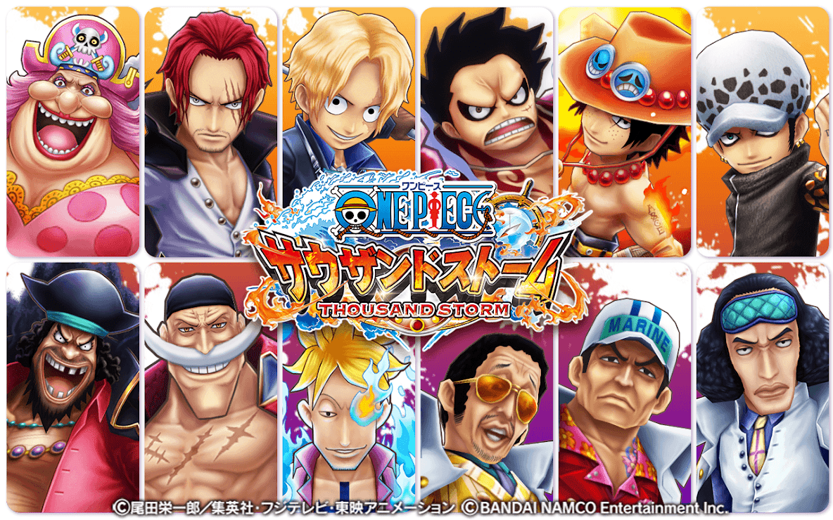 Download One Piece Thousand Storm 1 32 2 Apk Mod Weaken Monster For Android