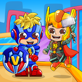 Влад и Никита Супергерои