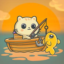 Игры о рыбалке - Fisher Cat Saga!