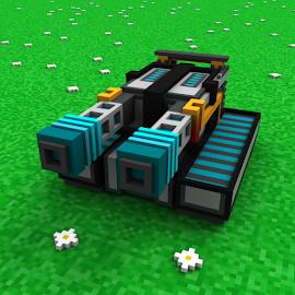 Power Tanks 3D - Киберпанк шутер, Танчики будущего
